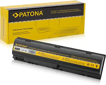 PATONA Laptop Akku f r DELL Inspiron 1300 Inspiron B120 Inspiron B130 Inspiron XD187 Inspiron 120L Li-ion 4400mAh schwarz Schätzpreis : 27,50 €