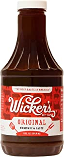 Wickers Sauce Original BBQ, 24-Ounce (Pack of 2)