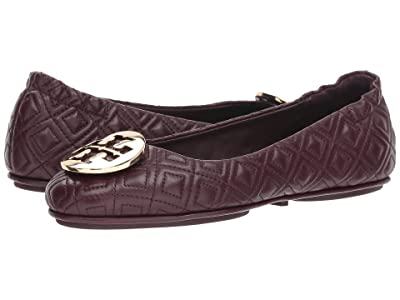 Tory Burch Quilted Minnie (Malbec/Gold) Women