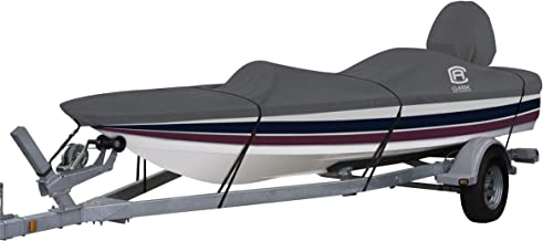 Classic Accessories StormPro Heavy Duty Outboard Ski-Boat Cover with Support Pole