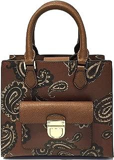 Michael Kors Bridgette Paisley Messenger Bag (Small, Paisley Luggage)
