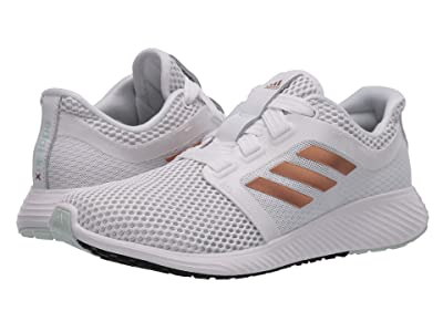 adidas Running Edge Lux 3 (Footwear White/Copper Metallic/Dash Green) Women