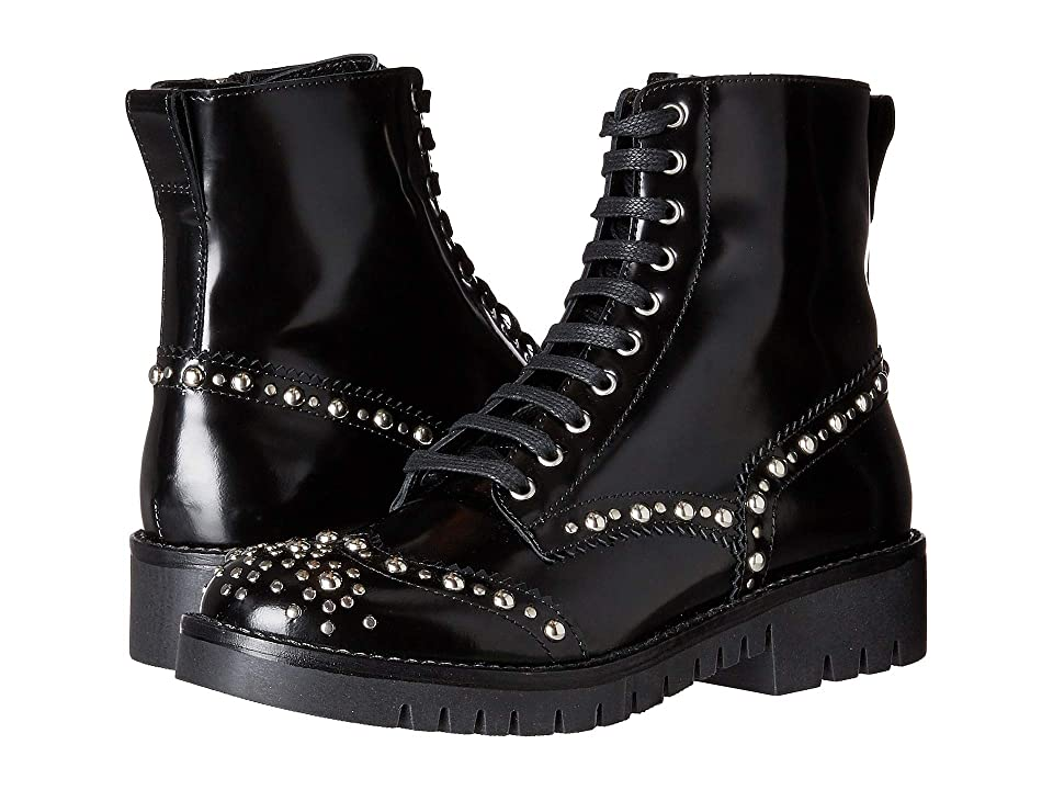 McQ Bess Derby Boot (Black) Women