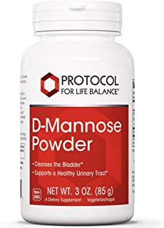 Protocol For Life Balance - D-Mannose Powder - Supports a Healthy Urinary, Gastrointestinal (GI) Tract and Digestive Syste...