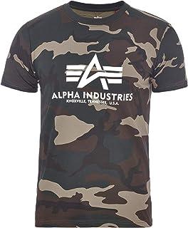 ALPHA INDUSTRIES Men T-Shirt Basic Camo