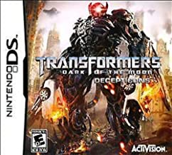TRANSFORMERS DARK OF THE MOON DECEPTICONS - NDS