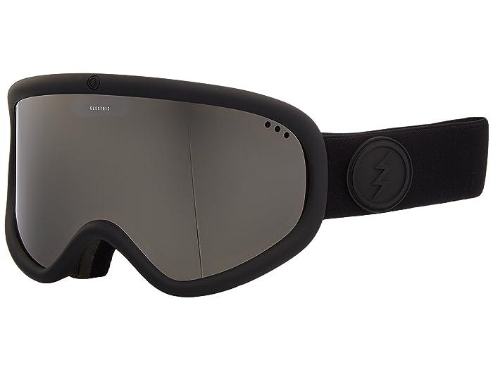 Charger XL  Shoes (Matte Black Frame/Brose Silver Chrome Lens) Goggles