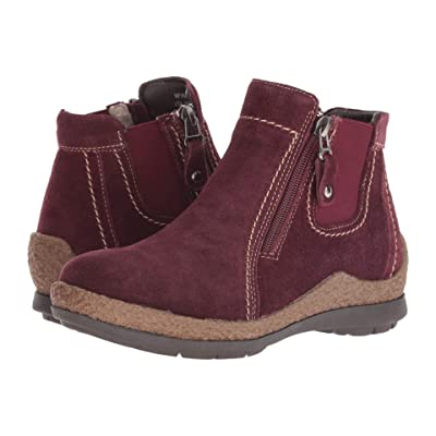 Propet Doretta (Dark Red) Women