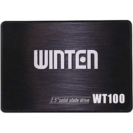 SSD 120GB 5年保証 WT100-SSD-120GB 新パッケージ WINTEN 内蔵型SSD SATA3 6Gbps 3D NANDフラッシュ搭載 デスクトップパソコン、ノートパソコン、PS4にも使える2.5インチ エラー訂正機能 省電力 衝撃に強い 2.5inch 5584