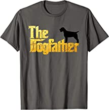 Wirehaired Pointing Griffon gifts - Dogfather t shirt