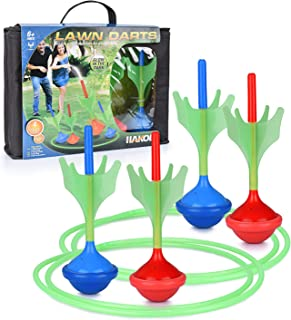 Lawn Darts Game – Glow in The Dark, Outdoor Backyard Toy for Kids & Adults | Fun for The Entire Family | Work On Your Aim ...