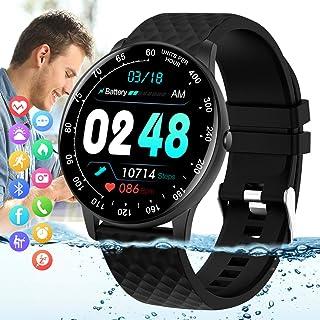 Peakfun Smart Watch,Fitness Tracker Watch with Heart Rate Blood Pressure Monitor IP67 Waterproof...