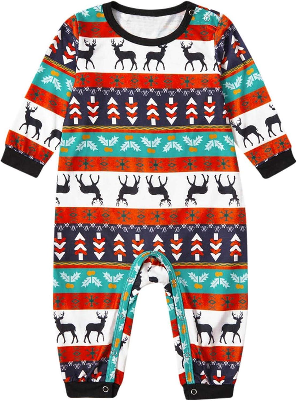 URIBAKE Japan's largest assortment Matching Family Christmas Pajamas with Xmas PJs Lon Quality inspection Sets