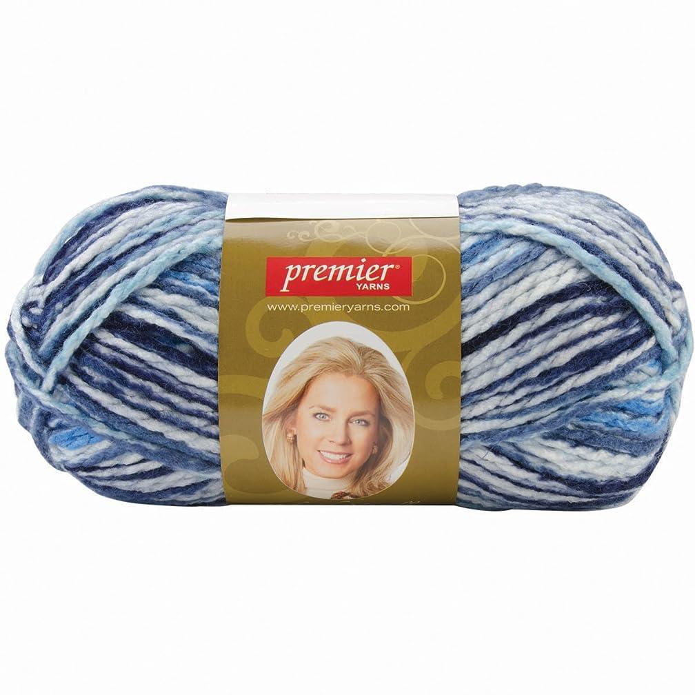 Premier Yarn Deborah Norville Collection Serenity Chunky Variegated Yarn, Cirrus