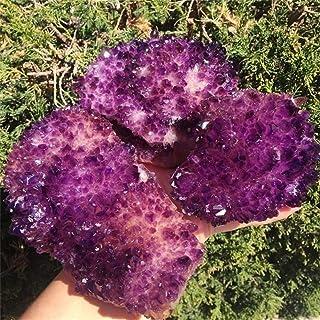 ZZLLFF Flor de Cristal púrpura Natural de 1pcs Natural Madagascar - como el Cristal cúmulo de Cristal de Cuarzo Gema Piedra en Bruto (Color : 530g 600g, Size : 1pcs)