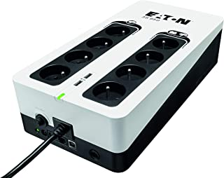 Onduleur Eaton 3S 850 FR - Off-line UPS - 3S850F - 850VA (8 prises FR) Noir/Blanc