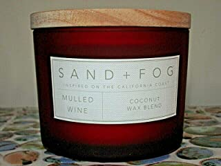 Mulled Wine Scented Candle with a Stamped Wooden Lid