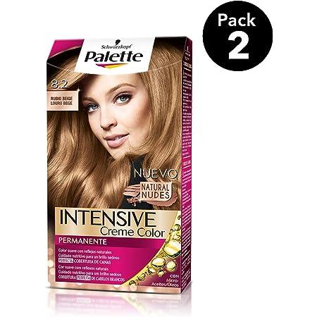Palette Intense - Tono 8.2 Rubio Beige - 2 uds - Coloración ...
