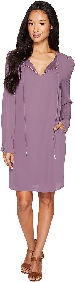 Amada Long Sleeve Woven Dress