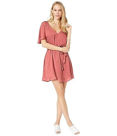 Show Me Your Mumu Anastasia Dress (Sangria Silky Dots) Women