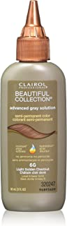Clairol Professional Beautiful Collection Semi-permanent Hair Color, Light Golden Chestnut, 3 Ounce