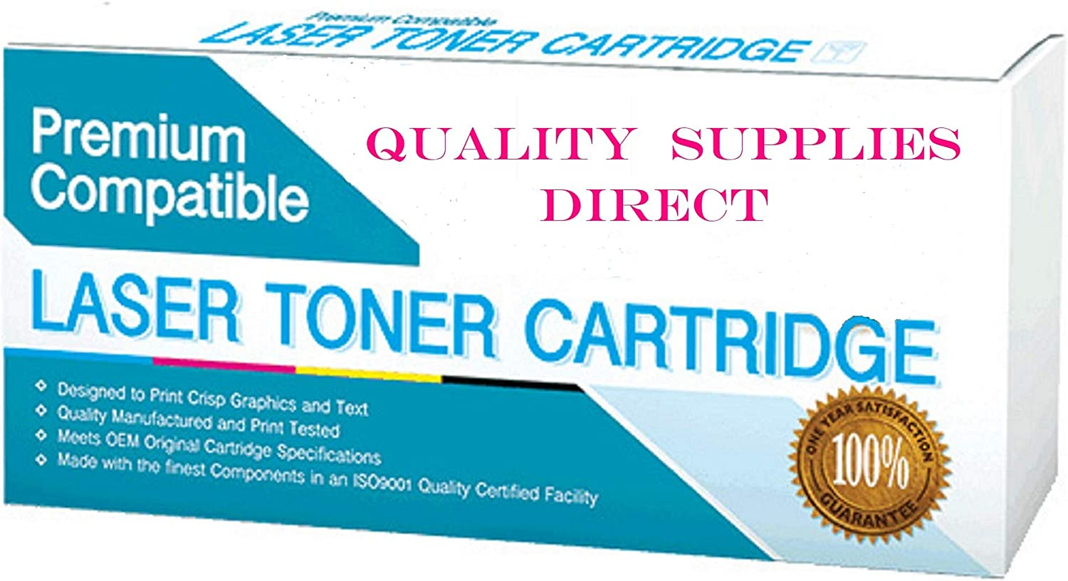 QSD Compatible Toner Replacement for Kyocera-Mita TK5142Y, Works with: ECOSYS M6530cdn, P6130cdn (Yellow)