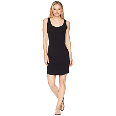 Icebreaker Yanni Merino Tank Dress (Black) Women