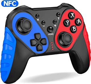 ESYWEN Switch Pro Controller with NFC Function for Nintendo Switch/Switch Lite, Switch Controller Gamepad for Nintendo Switch Console, Wireless Switch Controller Remote with Turbo/Motion Control