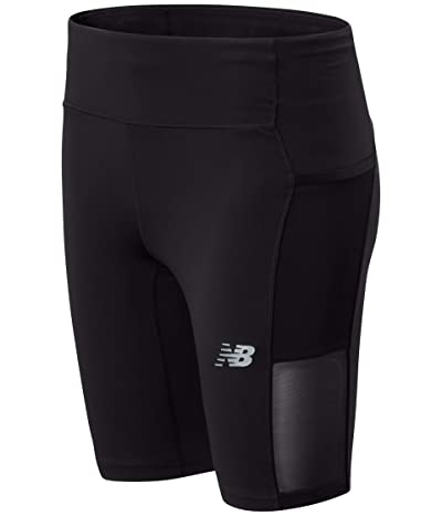 New Balance Impact Run Bike Shorts (Black) Women