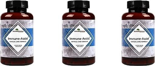 Aloha Medicinals – Immune Assist Critical Care Formula – Organic Mushrooms - Cordyceps sinensis, Agaricus Blazei, Lentinula edodes, Grifola frondosa, Ganoderma lucidum, Coriolus versicolor (3 Pack)