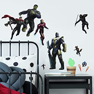 RoomMates RMK4047SCS Avengers: Endgame Peel And Stick Wall Decals,Black, Blue, Red