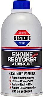 Restore (00009) Restaurador y lubricante de motor de fórmula de 4 cilindros – 10 onzas