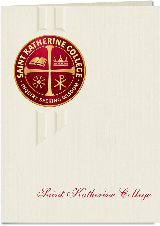 Signature Ankündigungen Universität Sankt Katherine Graduation Ankündigungen, eleganten Stil, Elite Pack 20 mit St. Katherine College Seal Folie B0793NBHZ6    | Reichlich Und Pünktliche Lieferung