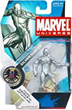 Hasbro Marvel Universe Series 1 Action Figure #003 Silver Surfer 3.75 Inch