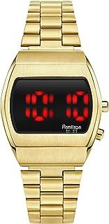 Retro Men's Multi-Function Digital Bracelet Watch, 40/8475
