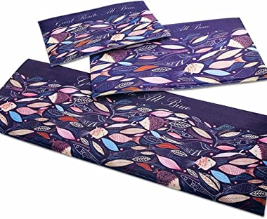 Moda · Topes de Vida Alfombra de baño Alfombras absorbentes absorbentes Amplias-Tiburón púrpura Grande_50x80