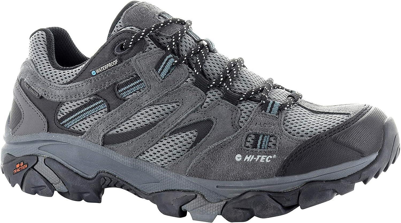 Hi-Tec Ravus Vent Low WP shoes Men Grey Black shoes Size EU 42 2019