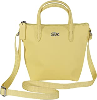 Lacoste Womens Crossbody Bag, Yellow (D63) - NF2609PO