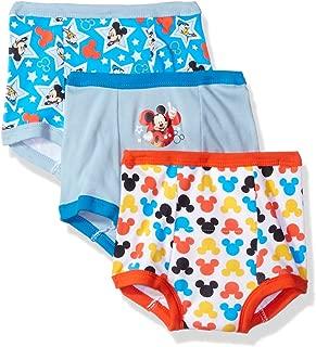 Disney Boys' Mickey Mouse 3pk Training Pant