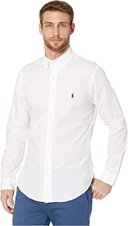 Slim Fit Poplin Sports Shirt