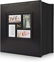 Photo Album 4x6 800 Pockets Photos, Extra Large Capacity Family Wedding Picture Albums Holds 800 Horizontal and Vertical P...