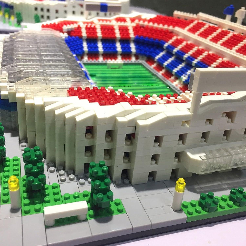 JKYQ 2018 Russland Welt Souvenirs Camp NOU Stadion 3D Puzzle Modell Fußball Fan Souvenirs Macht EIN tolles Souvenir Schöne Dekoration B07LF8MSLZ Spielzeugwelt, glücklich und grenzenlos   Offizielle