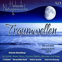 Strand Der Träume (Ultimative Einschlafhilfe, Weisses Rauschen für erholsamen und tiefen Schlaf) [Naturgeräusche + Musik + Binaural Beats Theta Wellen 4-3 Hz]