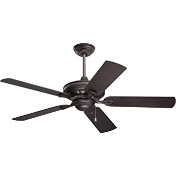 Light Kit Adaptable Oil Rubbed Bronze Finish Emerson CF654ORB Sea Breeze 52-Inch Ceiling Fan with Weather Resistant Blades