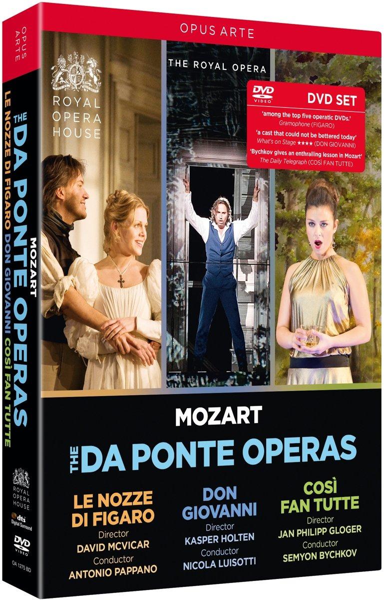 The da Ponte Operas: Le Nozze Figaro; Don di Giovanni; Cosi fan Free shipping on posting reviews New Shipping Free