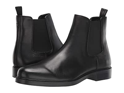 Calvin Klein Fenwick (Black Crust Leather) Men