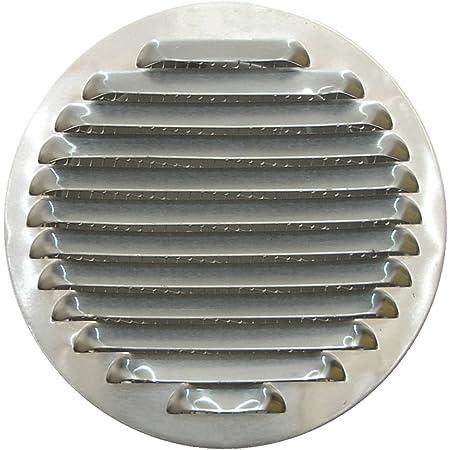 Mini Round Air Vent Grille 80 mm avec bride et moustiquaire De Ventilation Housse