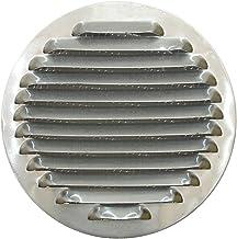 Tapa de Rejilla de Ventilación de Aluminio Circular Ø 120