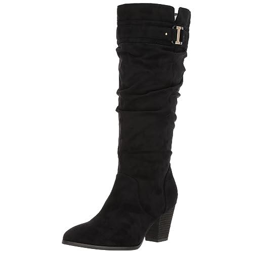 40ed787c470b Dr. Scholl s Shoes Women s Devote Wide Calf Riding Boot