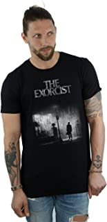 The Exorcist Men's Mono Distressed Poster T-Shirt